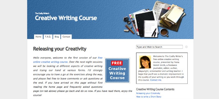 free online creative writing programs